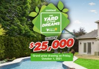 Forevergreen Canada $25,000 Peace Of Mind Lawn Care Package Giveaway