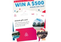 Airbnb Gift Cards Giveaway