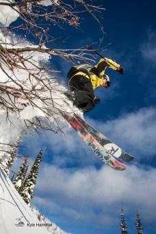 Bill Savage @ Snowwater Heliskiing / Photo: Kyle Hamilton