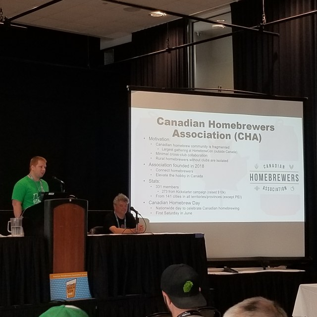 HomebrewCon 2019 – Canadian Homebrewing Presentation