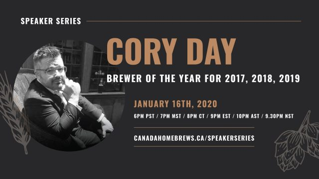 Speaker Series: Cory Day (Vancouver, BC)