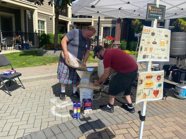 Homebrew in the Community: Avalon Gardens Community Brew Day