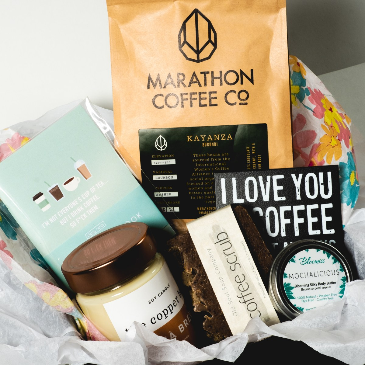 Canadian Coff'eh (Coffee) Gift Set by Canada in a Box 100% Canadian Subscription & Gift Boxes
