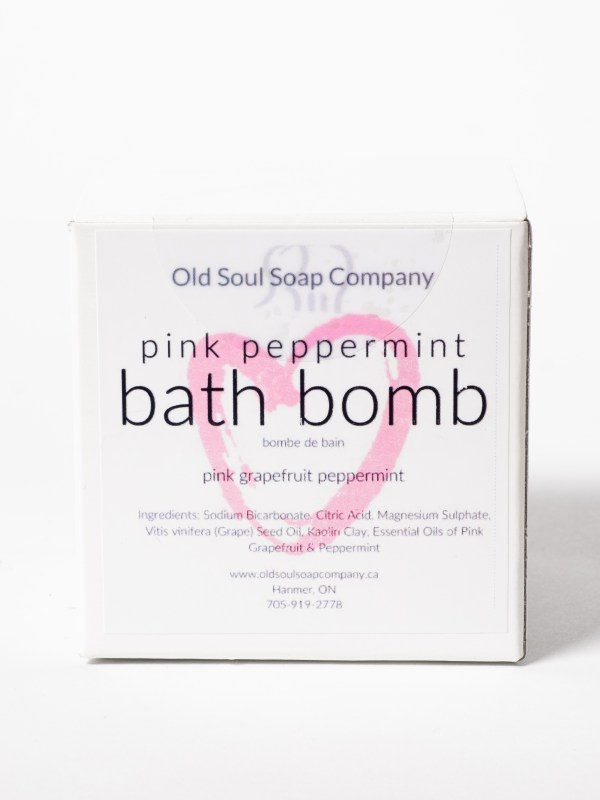 Treat Yourself Pamper Box by Canada in a Box 100% Canadian Subscription & Gift Boxes Bath Bomb