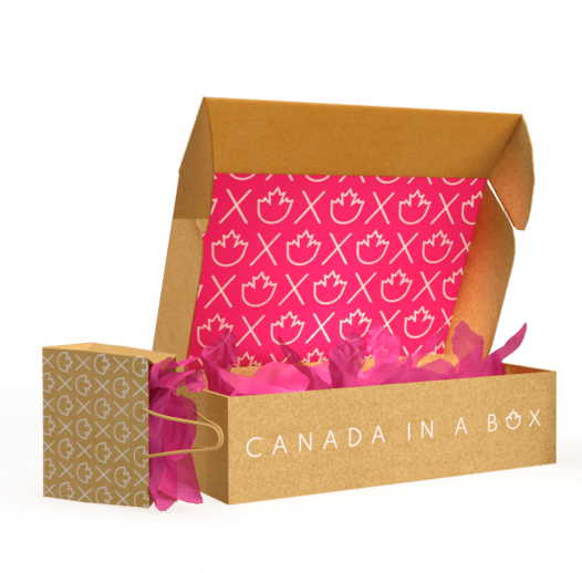 Canada in a Box - Product Mocks No Background - 100% Canadian Subscription Boxes