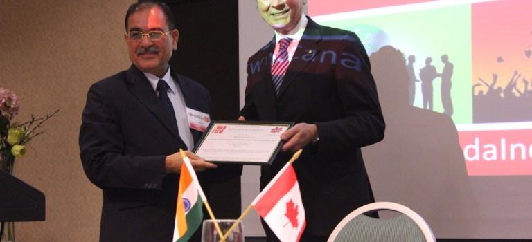 Gulshan Kumar Pathania receives CIEC Membership Certificate