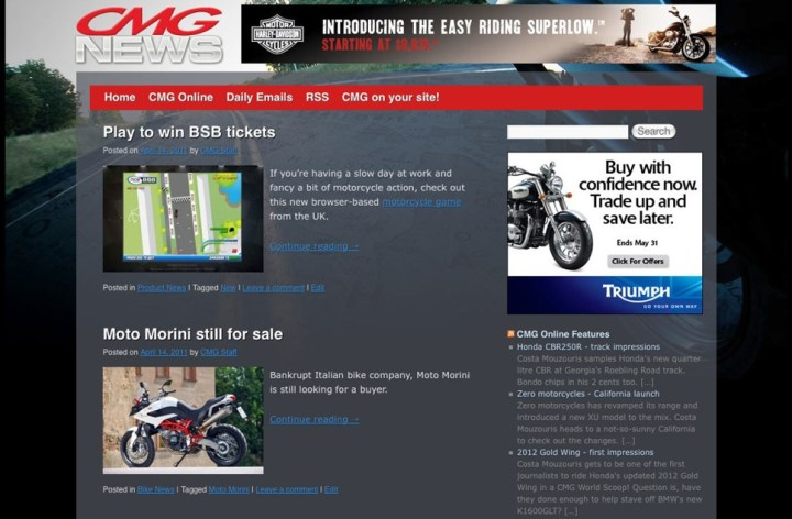 CMG Daily News Site!