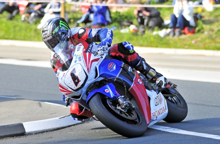 McGuinness on Top at the Island
