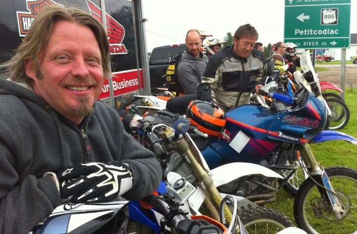 Ride with Charley Boorman today!