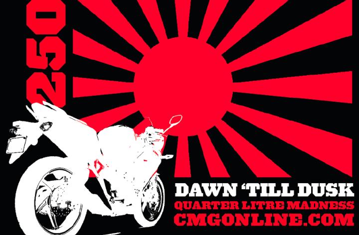 Dawn-'til-Dusk run, CMG style!