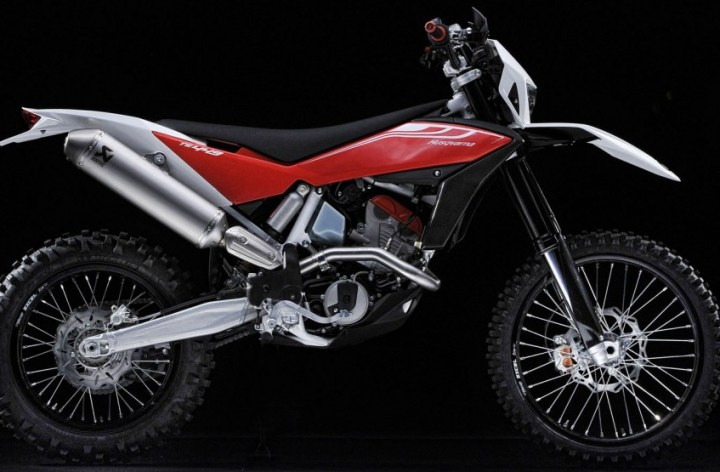 Husqvarna introduces off-road ABS