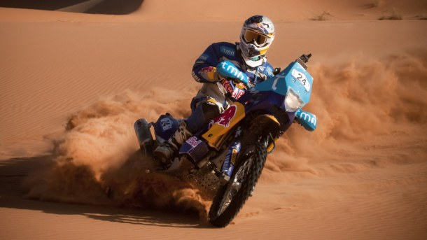 Dakar, Day Eight: Coma takes first place