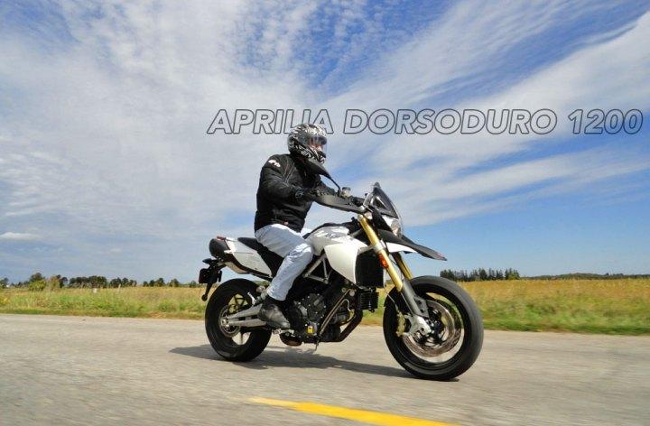 Aprilia – Dorsoduro 1200 tested