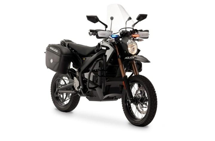 Zero unveils police motorcycle