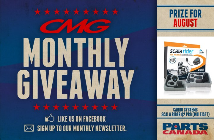 CMG Monthly Giveaway