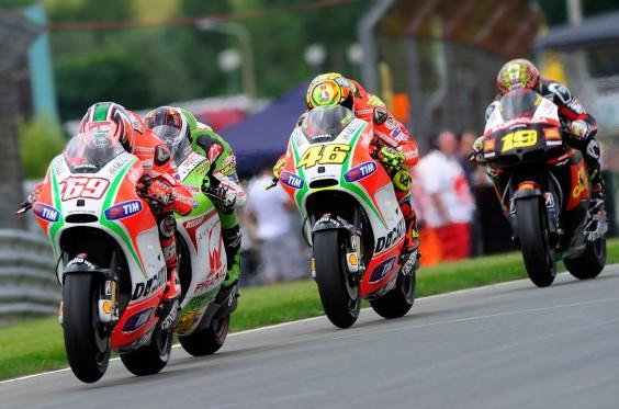 Moto GP Upside Down Again