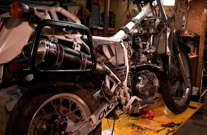 Project Bike: KLR Adventurer Tourer – 5