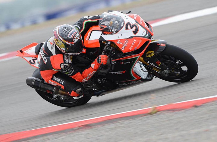 Video: Seven minutes with Max Biaggi