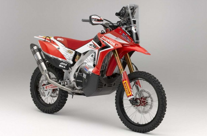 More Dakar news: Honda announces team, new bike