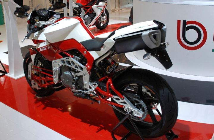 EICMA 2012: Bimota dévoile le concept BB2