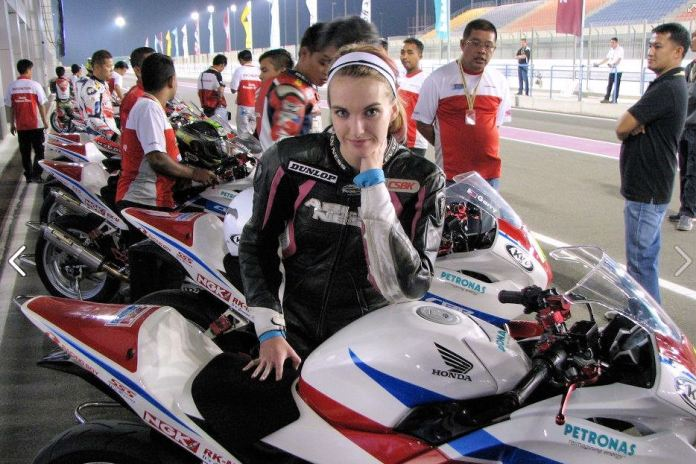 A new AMA series could give Canadian riders like Stacey Nesbitt (seen here racing in Qatar) a chance to further develop skills before moving up to bigger machines. Photo: Statoni Racing/Facebook