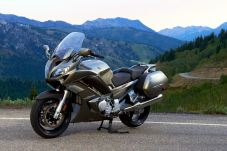 The FJR1300 is at home on the open road.