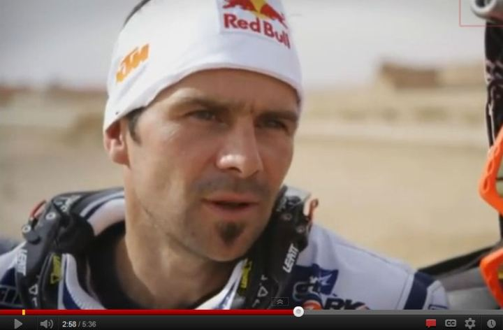 Video: Interview with Dakar Rally's Cyril Despres