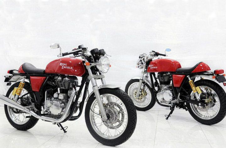 Royal Enfield shows off new cafe racer