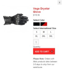 Sizing is a bit iffy with the Vega gloves, as it is with much of Alpinestars' lineup.