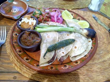 Mexican food can be just perfect.