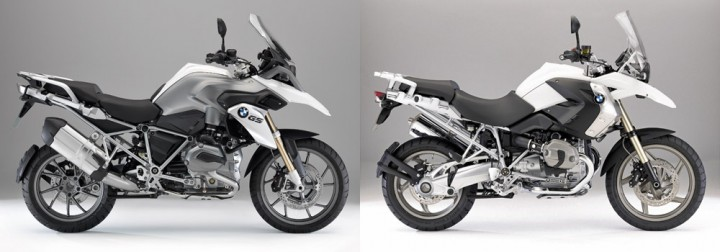 The new GS (left) keeps a very similar profile to the one it replaces (right), but is different in almost every way.