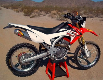 Honda CRF250L mods