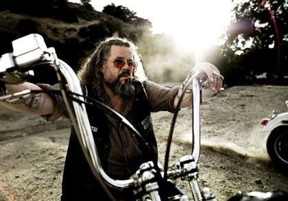 Mark Boone Jr. had a pretty good crash on set.