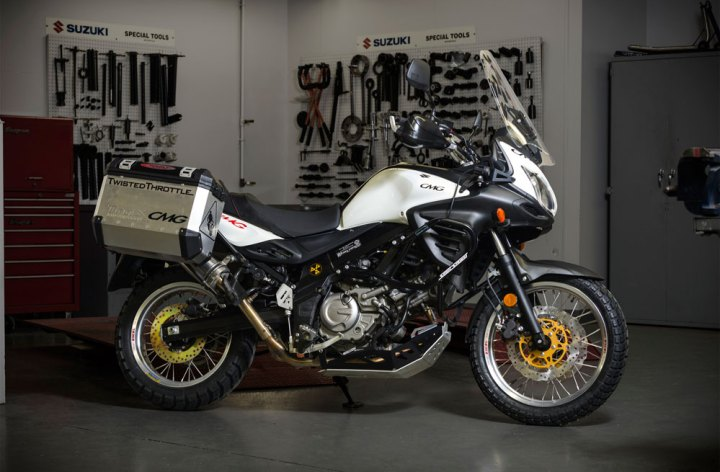 CMG V-Strom project bike for sale