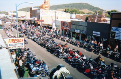 If your town's economy is fading, maybe the mayor should consider investing $50,000 to pay pay a motorcycle rally to use its own name. The investment seems to keep Sturgis city council happy.
