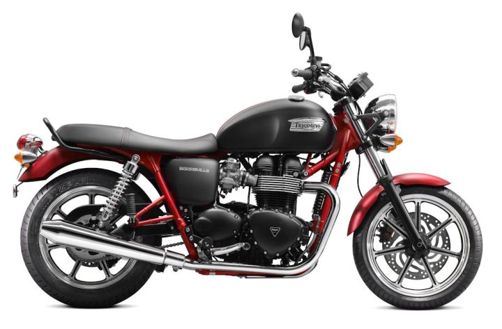 Triumph unveils Bonneville SE, Speed Triple SE