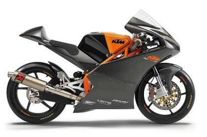 KTM rc250r moto3