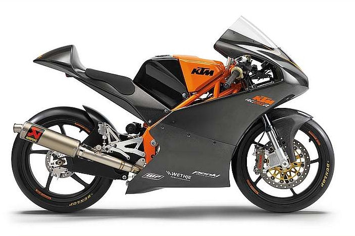 KTM working on 250 cc sportbike
