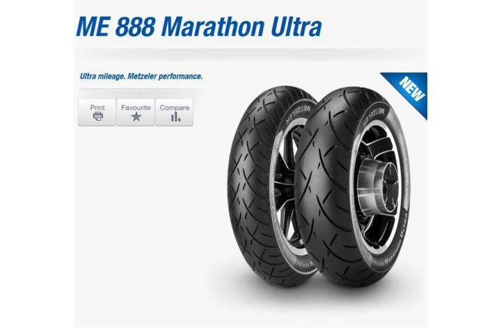 New M888 high-mileage tires from Metzeler