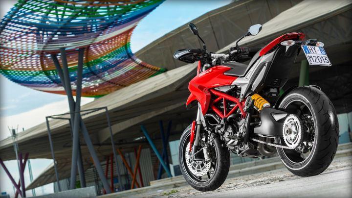 Just the bike for urban brawling. Photo: Ducati