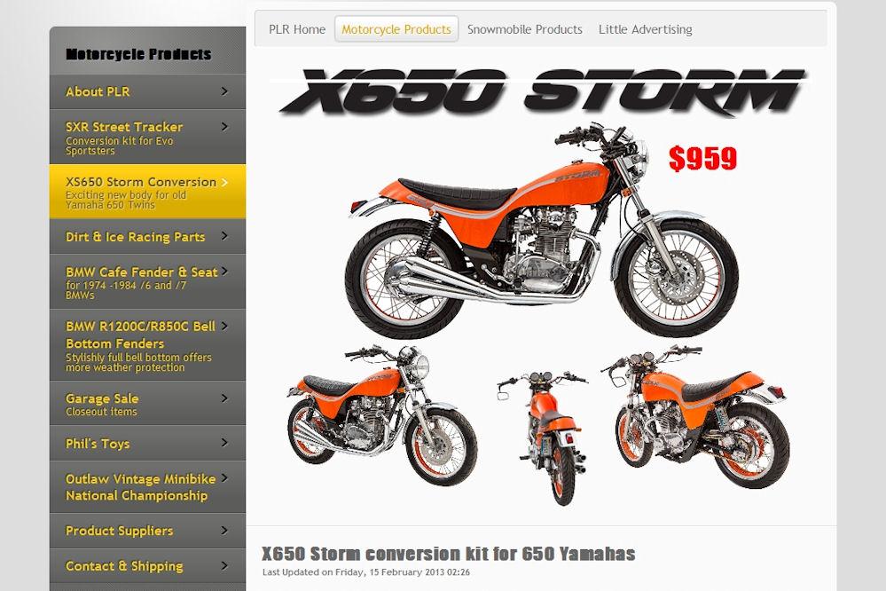 Turn your Yamaha XS650 into a Triumph Hurricane clone