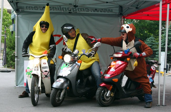Registration opens tonight for Mad Bastard Scooter Rally