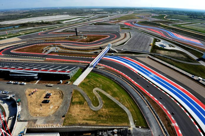 Here's what the COTA looks like from overhead. Photo: Milagro