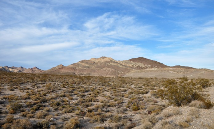 Sure, we'd all like to ride off to the Amargosa Desert - but what luggage are you going to use to get there? Photo: Wikipedia