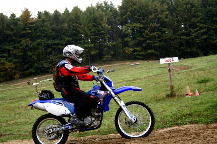 Jim Vernon came all the way from Montreal, Yamaha in tow, to ride with us. Photo: Zac Kurylyk