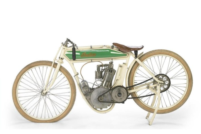 As owned by Steve McQueen, and raced by some madman around the same time as World War I.