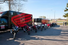 Chances are, if a dealer has a demo model, it'll be an entry-level bike. However, the demo tour trucks usually have a much wider assortment of bikes, if you don't mind going on a guided ride to test the machines.
