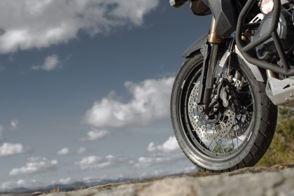 Wire wheels define the XC and are supposed to add to it's off-roadability.