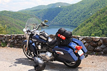 The Switchback, at Rt. 129's famous lookout at the Tennessee end of the Tail of the Dragon. Photo: Zac Kurylyk