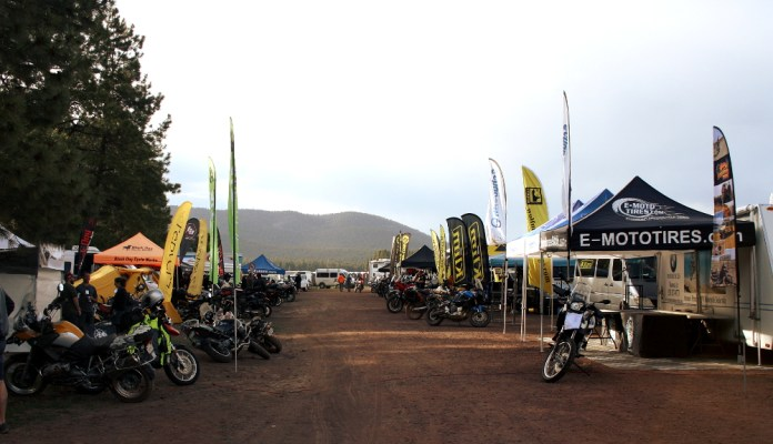 Here's a glimpse of the motorcycle vendors' section. There was an even bigger area filled with more general stuff that appealed to both car and truck drivers (think quick-dry clothes, solar power panels, tents, etc).